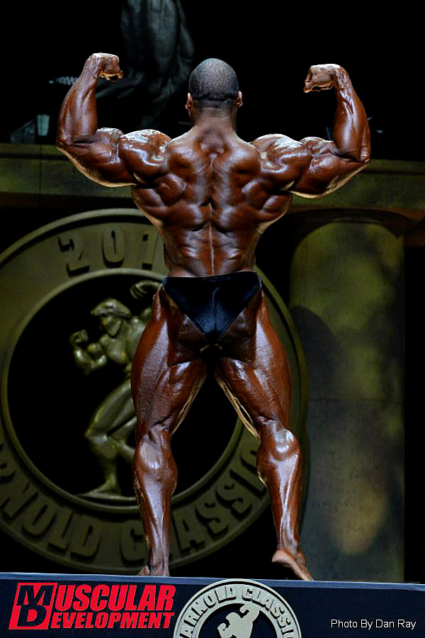 Arnold Classic 2015 - Cedric McMillan - Doppelbiceps hinten