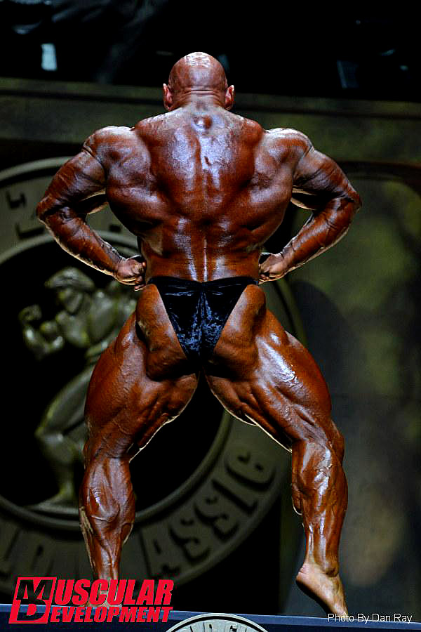 Arnold Classic 2015 - Branch Warren - back lat spread