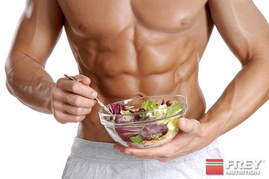 Die Energiebilanz entscheidet über Muskelauf- oder Fettabbau