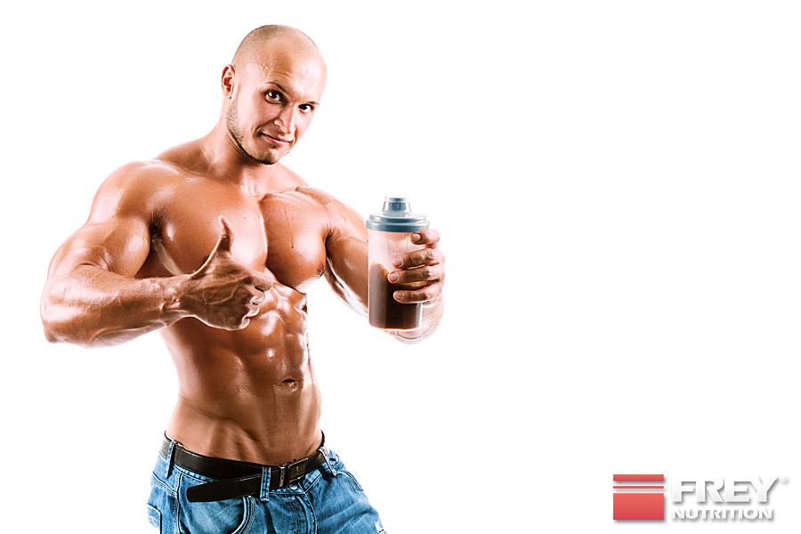 Eiprotein ist bekannt dafür, dass es kein Wasser unter der Haut speichert.