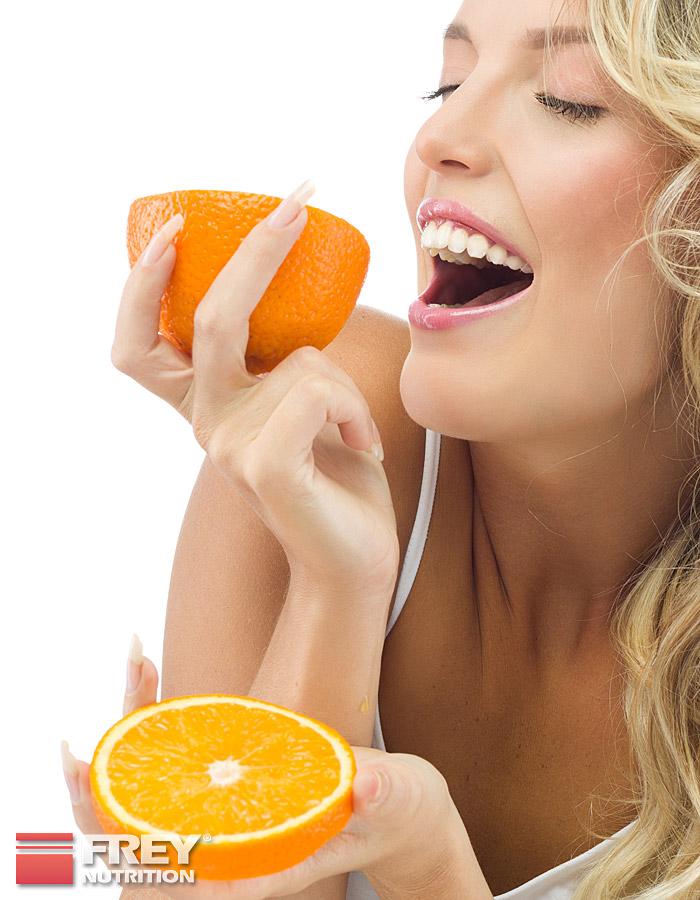 Vitamin C besitzt starke antioxidative Eigenschaften