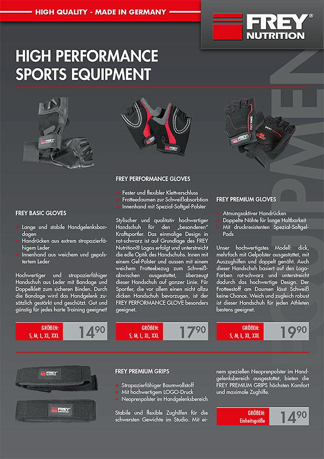 Equipment Infoflyer - front