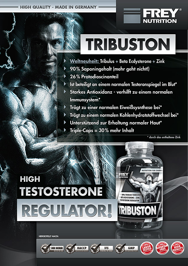 TRIBUSTON Flyer front