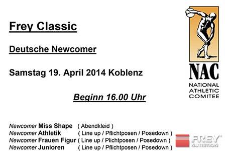FREY Classic 2014 Ablaufplan