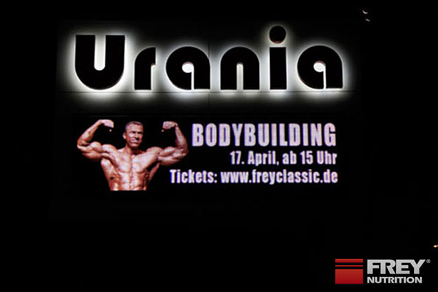 Die erste FREY Classic fand in Berlin in der Urania statt