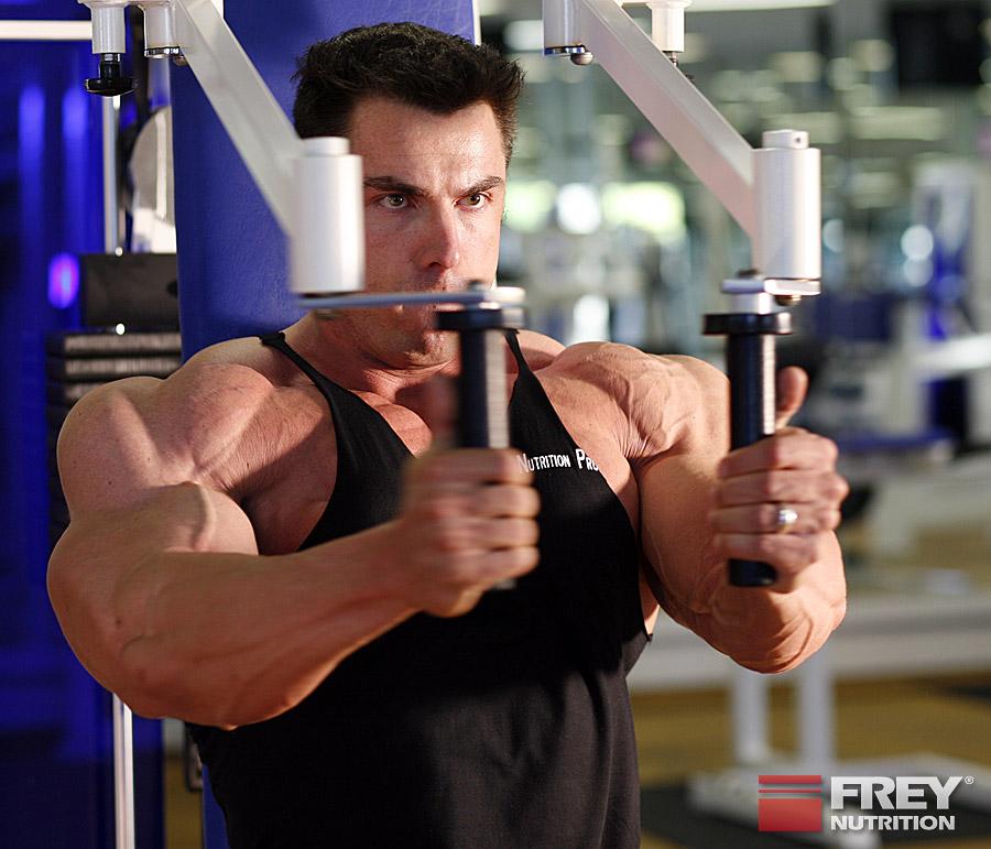 Training für die Brustmuskulatur