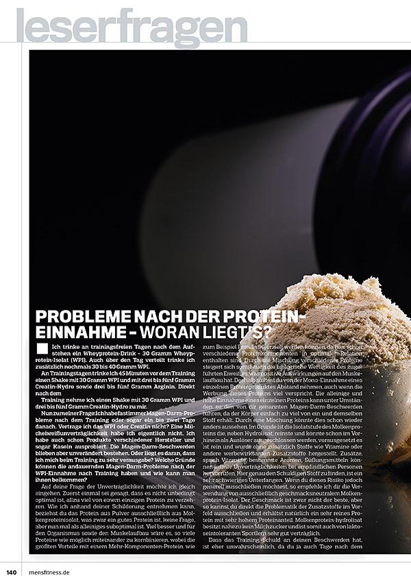 Kolumne 91 - Effektive Proteinaufnahme