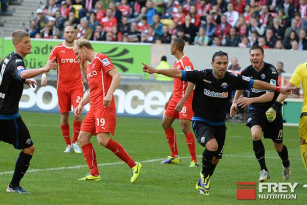 Sensationssieg gegen Fortuna Düsseldorf mit 6:1