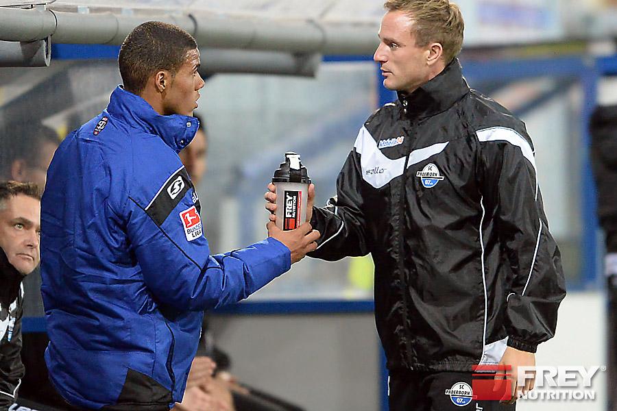 Die Spieler des SC Paderborn 07 verwenden FREY Nutrition