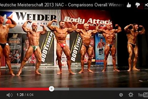 Video der Int. Deutschen Meisterschaft 2013