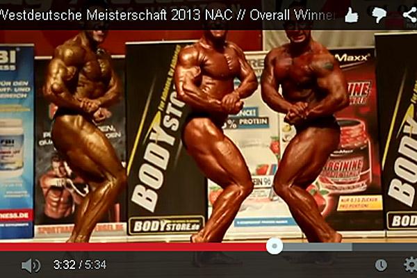 Video der Int. Westdeutschen Meisterschaft 2013