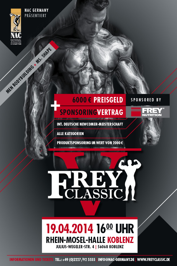 FREY Classic 2014 Poster