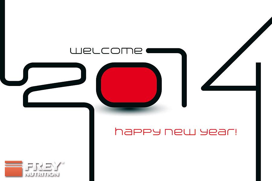 Frohes und gesundes Neues Jahr 2014