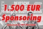 1.500 Euro Sponsoring von FREY Nutrition®