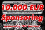 10.000 Euro Sponsoring von FREY Nutrition