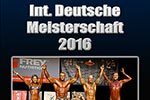 Ab sofort erhältlich: Die Doppel-DVD zur Int. DM 2016