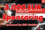 3.000 Sponsoring von FREY Nutrition