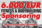 6.000 Euro Sponsoring von FREY Nutrition®
