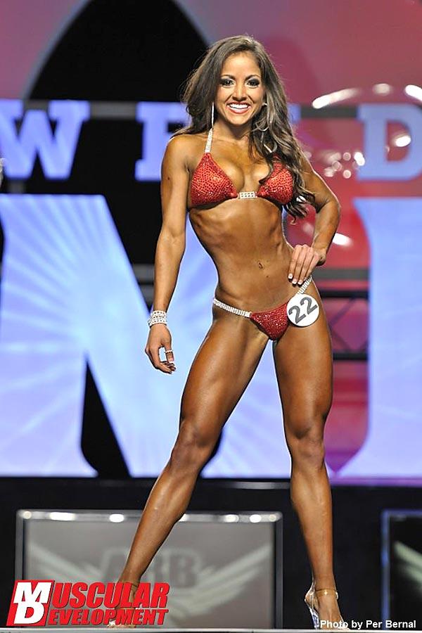 Mr. Olympia 2011 - Nicole Nagrani