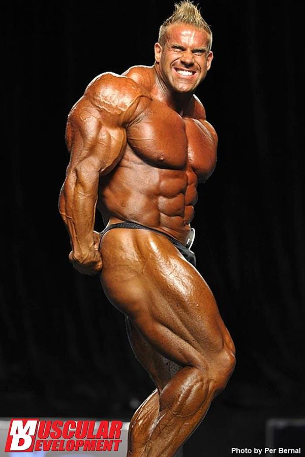 Mr. Olympia 2011 - Jay Cutler - seitliche Tricepspose