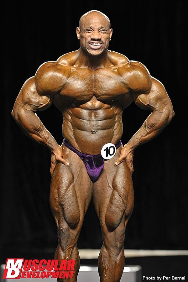 Mr. Olympia 2011 - Dexter Jackson - Latissimus von vorne