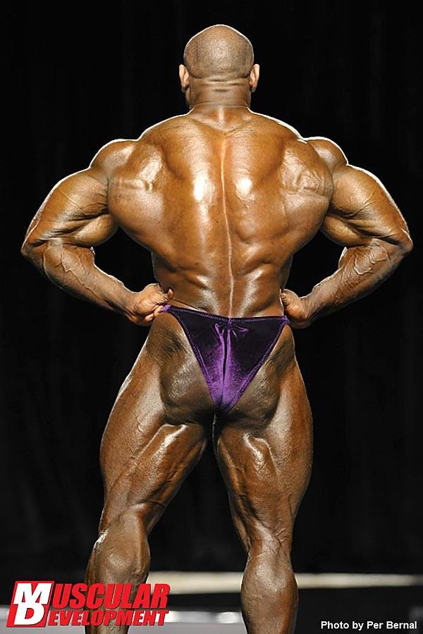 Mr. Olympia 2011 - Dexter Jackson - Latissimus von hinten