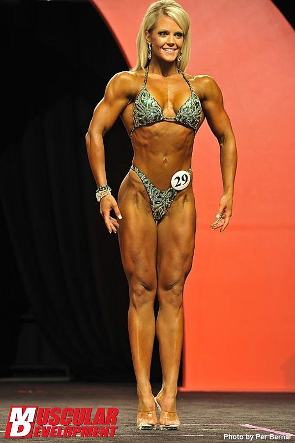 Mr. Olympia 2011 - Nicole Wilkins