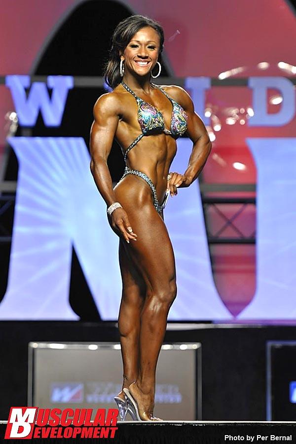 Mr. Olympia 2011 - Tanji Johnson