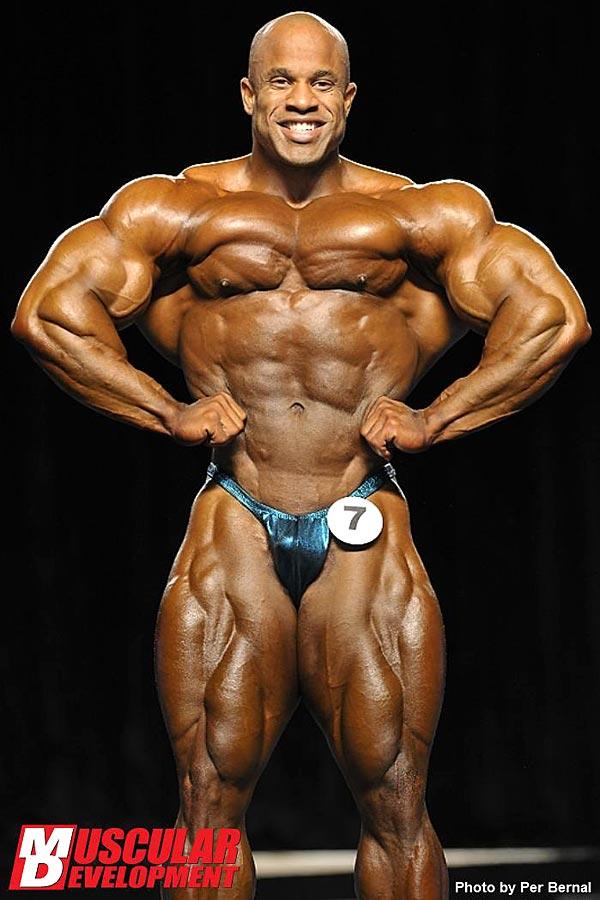 Mr. Olympia 2011 - Victor Martinez - Latissimus von vorne