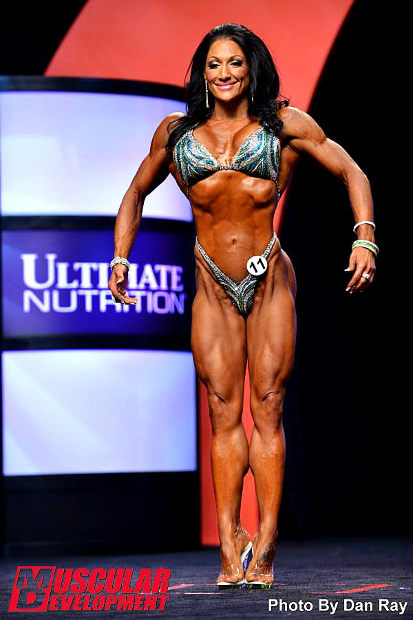 Mr. Olympia 2014 - Candice Keene