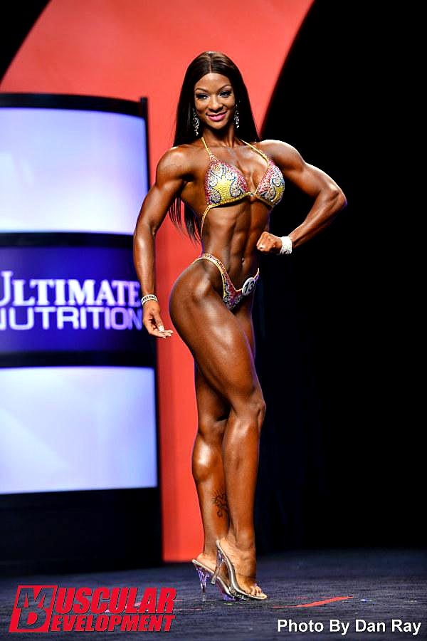 Mr. Olympia 2014 - Candice Lewis