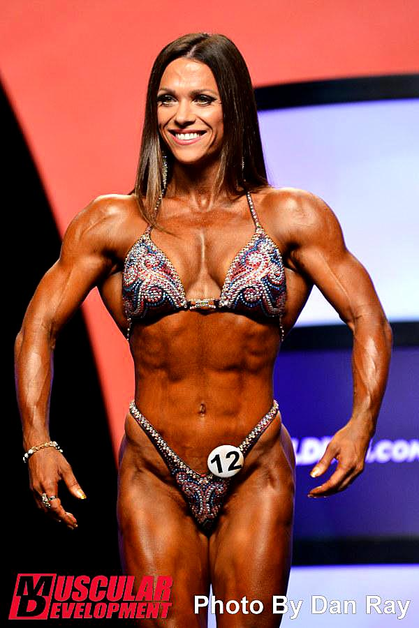 Mr. Olympia 2014 - Oksana Grishina