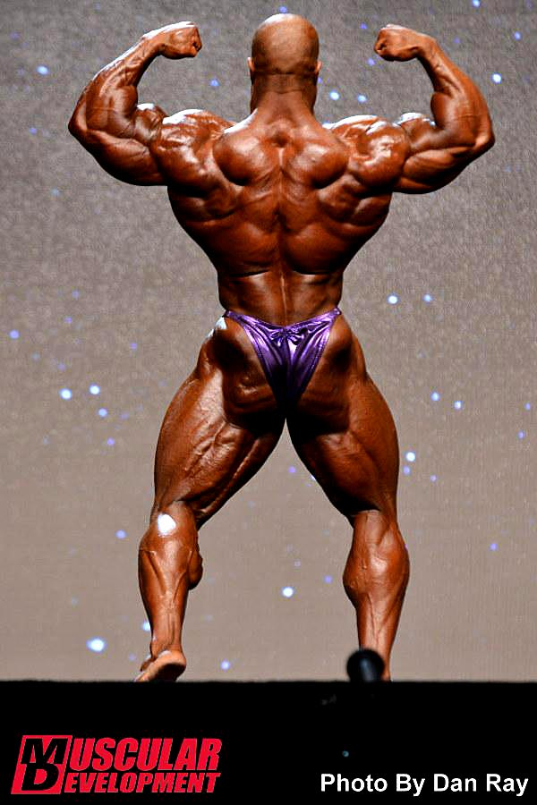 Mr. Olympia 2014 - Phil Heath - back double biceps