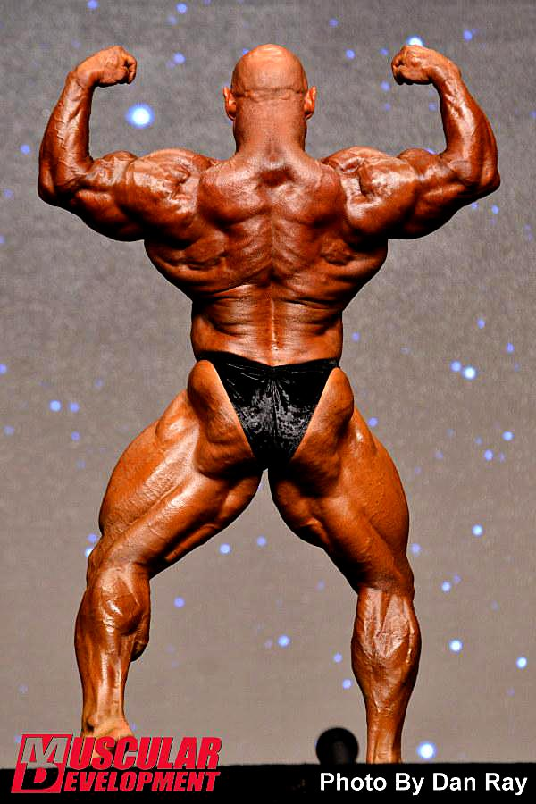Mr. Olympia 2014 - Branch Warren - back double biceps