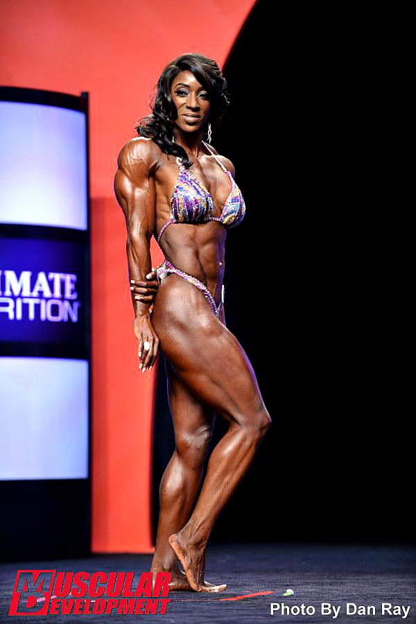 Mr. Olympia 2014 - Tycie Coppett