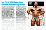 SPORTREVUE berichtet über FREY Athlet Markus Rohde