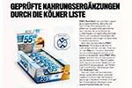 Geprüfte Nahrungsergänzungen durch die Kölner Liste