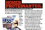 Hoher Proteinanteil bei weniger als 1 g net carbs