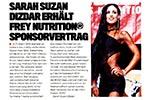 Flex Artikel: Sarah Suzan Dizdar wird FREY Athletin