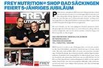 Men's Fitness berichtet über den FREY Shop Bad Säckingen