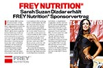 Pressebericht: Sarah Suzan Dizdar wird FREY Athletin