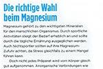 Die richtige Wahl beim Magnesium