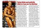 Sportrevue Artikel: Markus Rohde bleibt FREY Athlet