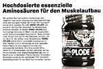 AMINO XPLODE von FREY Nutrition für den Muskelaufbau