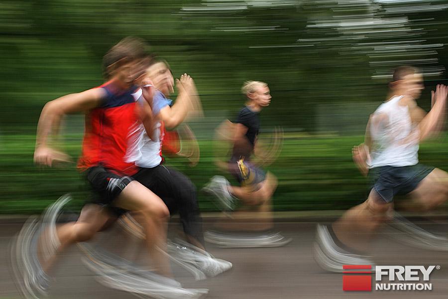 Positive Effekte für Sprinter