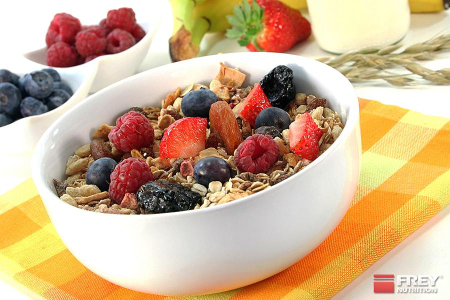 Das Frühstück ist die wichtigste Mahlzeit des Tages