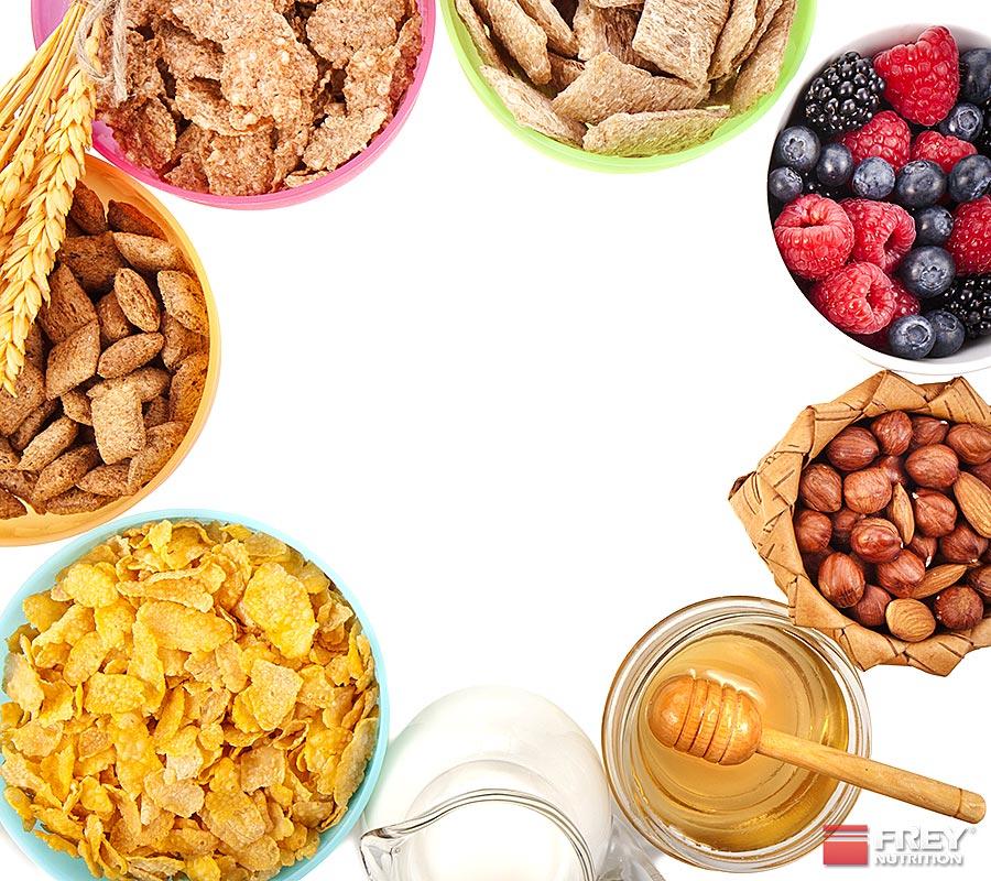 Nüsse und Vollkornprodukte sind reich an Magnesium