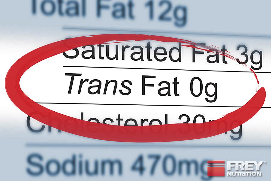 Trans-Fettsäuren sollten jederzeit gemieden werden