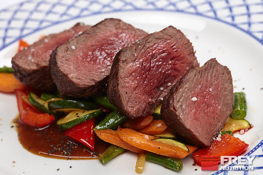 Rotes Fleisch ist besonders reich an Creatin