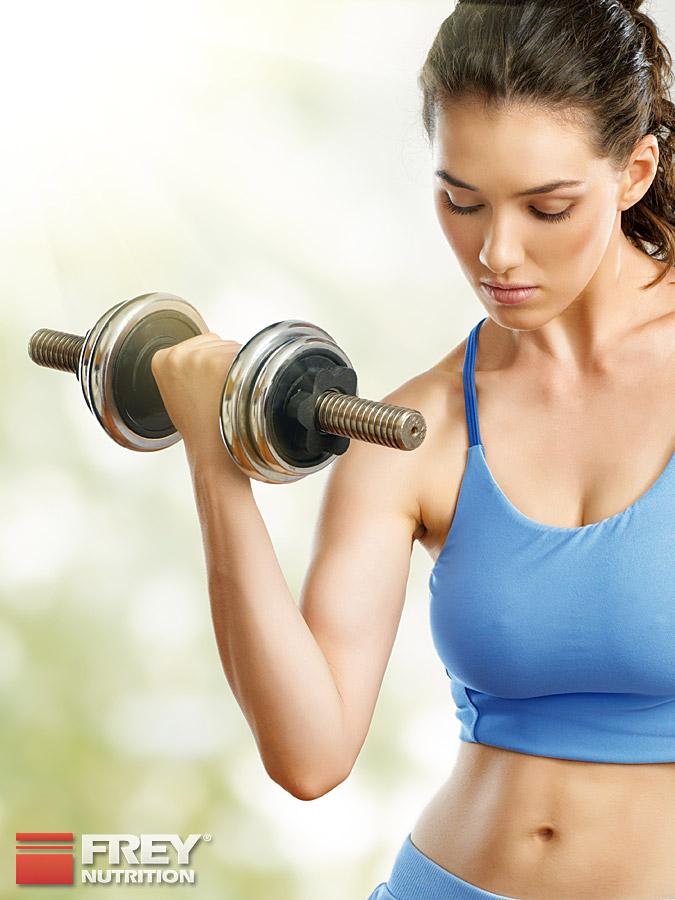 Krafttraining bewirkt eine Stoffwechselsteigerung